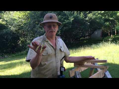 Original Civil War black powder cannon fuse still works perfectly