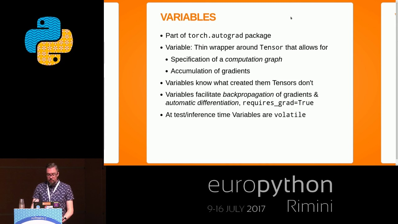 Paul O'Grady - An introduction to PyTorch & Autograd
