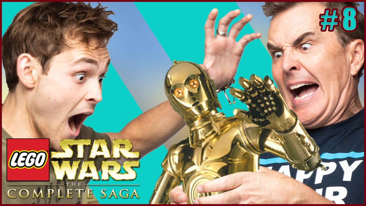 Shut Him Up Or Shut Him Down! | LEGO Star Wars - Part 8 | Father Knows Best?