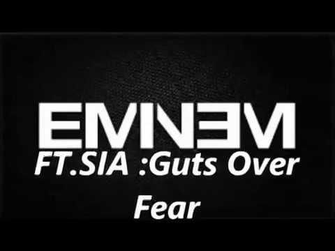 EMINEM ft. SIA - Guts Over Fear {DIRTY} (LYRICS ON SCREEN) [SHADYXV]