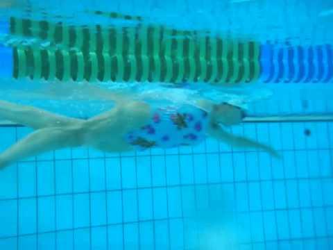 Swim analysis 2  underwater view 1