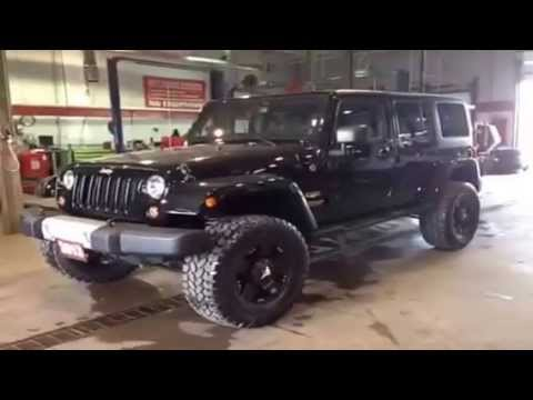 2013 Jeep Wrangler Unlimited 4WD Sahara 4 Door Sport | MacIver Dodge Jeep |  Newmarket Ontario   YouTube