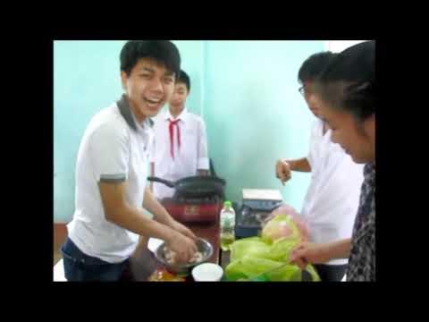 Tiết thực hành môn Công nghệ lớp 9 - Chế biến các món ăn