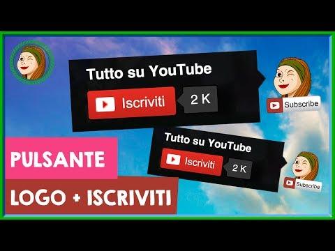 Mettere il logo con il pulsante iscriviti: Programmazione InVideo | Risposta a @MattiaSimonato