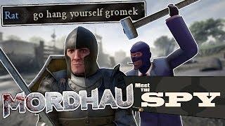 This spy build makes people ANGRY [Mordhau]