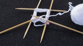 Knit With DPNs (Double Pointed Needles)