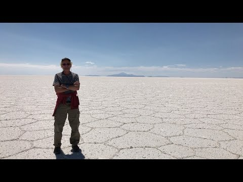 Exploring The Largest Ancient Salt Flats In The World In Bolivia
