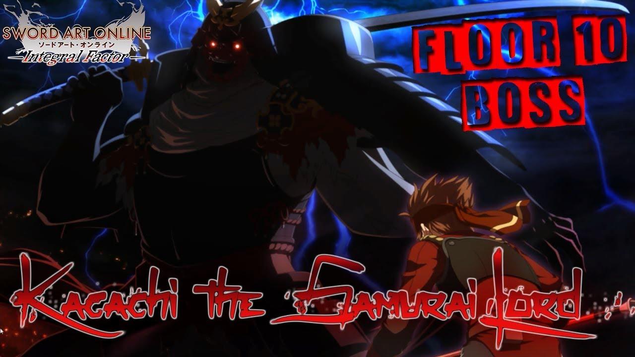 Sword Art Online Integral Factor Sao If Floor 10 Boss