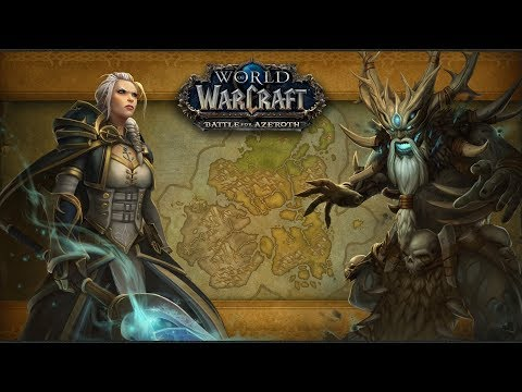 Battle for Azeroth Intro Scenario Alliance