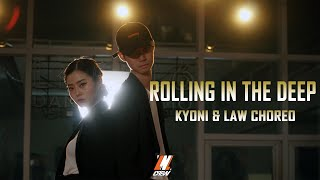 Choreography by KYONI & LAW [Lock'n'lol Crew] - Adele-Rolling in the deep VillA Remix