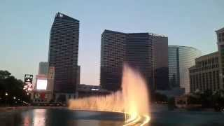 Download Sunset at Fountains of Bellagio - My Heart Will Go On (Celine Dion) MP3 song and Music Video