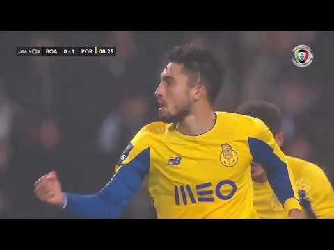 Goal   Golo Alex Telles: Boavista 1-(0) FC Porto (Liga 19/20 #11)