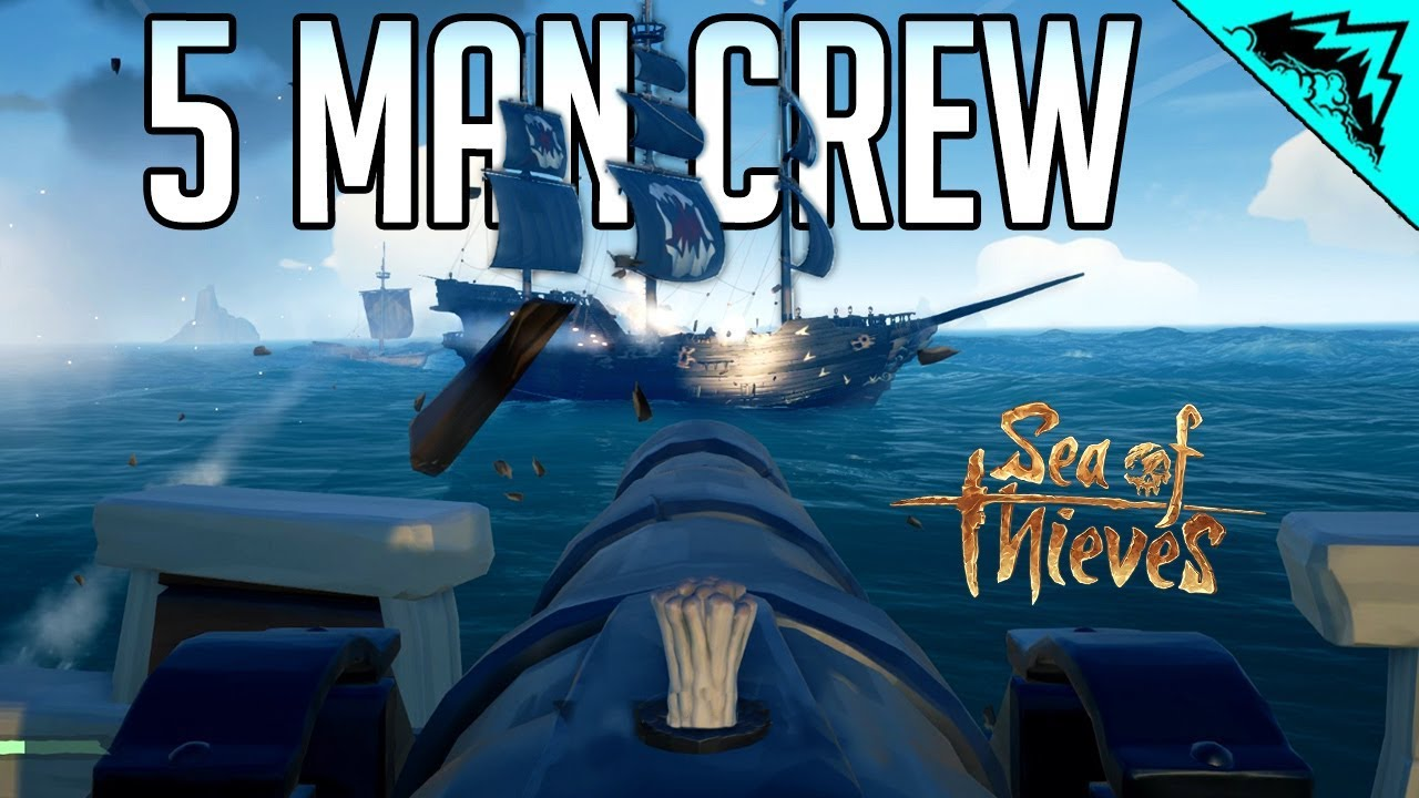 5 Man Crew Sea Of Thieves Most Deadly Crew Sot Funny Moments