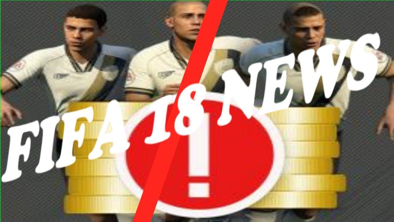 Fifa 18 News Coins Kaufen Ja Oder Nein Youtube