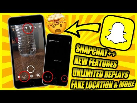 SNAPCHAT++ NEW UPDATED!! UNLIMTED REPLAYS TO SNAP!! MAKER YOUR OWN FILTER!! NOW WORKING 2017 LEGIT!!