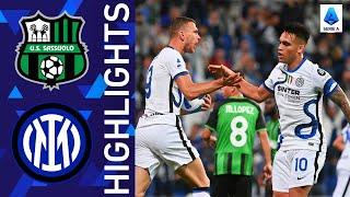 Sassuolo 1 2 Inter Dzeko leads Inter s comeback Serie A 2021 22
