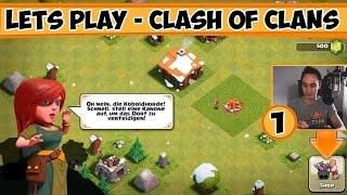 1# Lets Play - Clash of Clans - der zweite erste Schritt zur Weltherrschaft