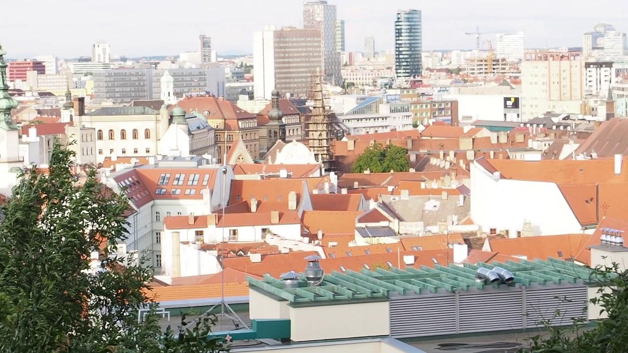 Что посмотреть в Братиславе за 2 дня. VLOG 1   Дорога к Замку   Братиславский Град