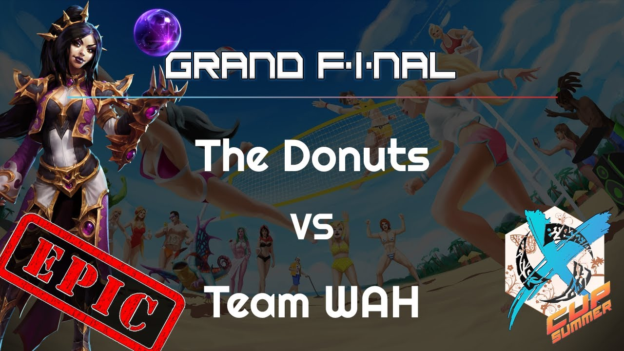 Grand Final: Donuts vs. WAH - X Cup Summer - Heroes of the Storm
