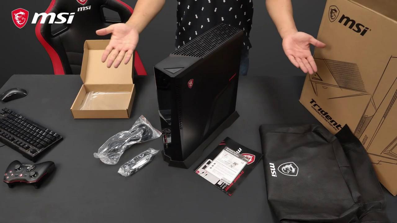 Ausgepackt: MSI Trident A Unboxing