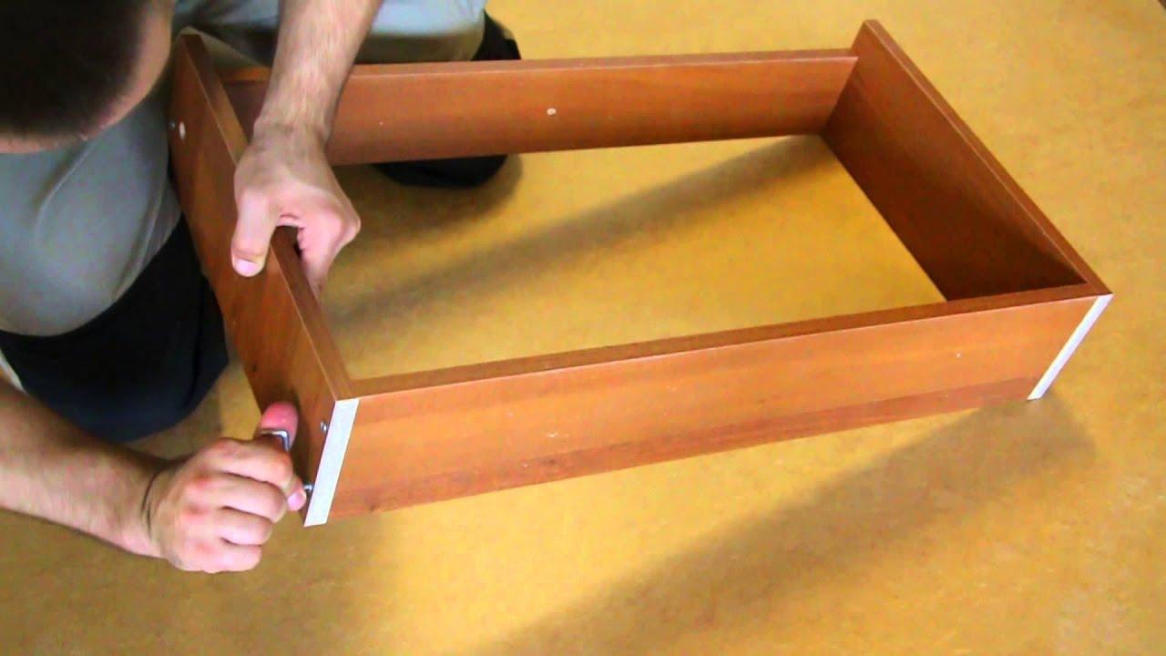 Сборке 5 по ящиков инструкция комод пилигрим