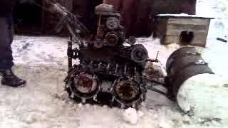 Мотоблок урал уборка снега.(, 2013-02-05T16:30:04.000Z)