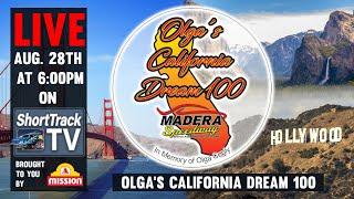 LIVE California Dream 100 Auto Race AUGUST 28th!
