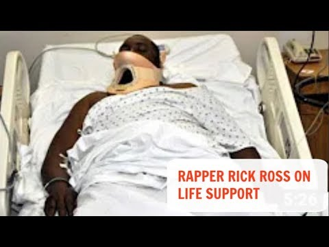 Rick Ross sick-on life support