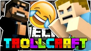 Minecraft | TROLLED BY BOTH SSUNDEE AND SPARKLEZ!! | TROLL CRAFT