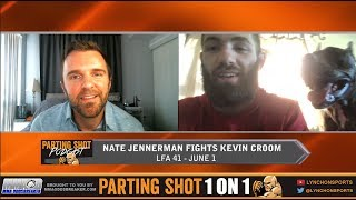 LFA 41's Nate Jennerman talks Kevin Croom, Training w/ Jared Gordon & UFC Aspirations