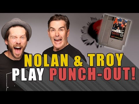 RETRO REPLAY   Nolan & Troy Play Punch Out!!
