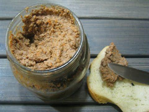Как сделать вкусный паштет из свиной печени//Pasztet Z Wątróbek//Pate Of Pig Liver