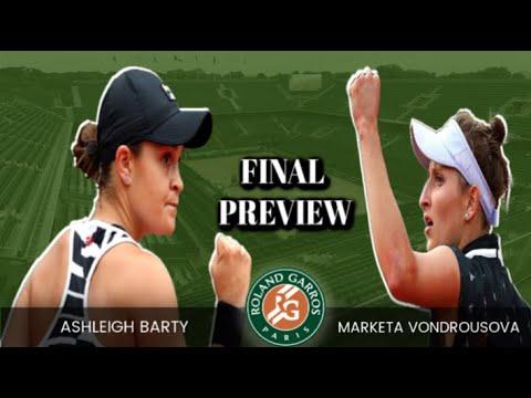 Ashleigh Barty vs Marketa Vondrousova 2019 French Open Final | PREVIEW