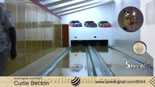 amf 300 shredder bowling ball reaction video