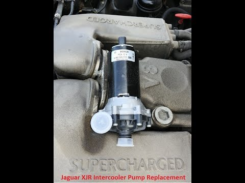 Jaguar XJR Intercooler Pump Replacement