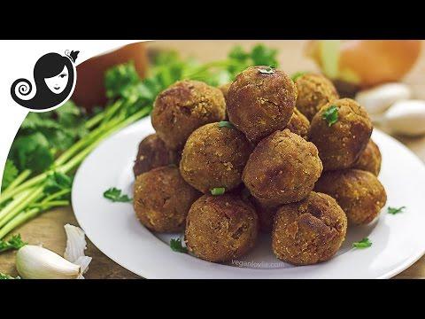 Vegan Meatballs Recipe – TVP Meatless Balls | Vegan/Vegetarian Recipe