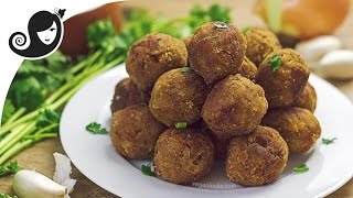 Vegan Meatballs Recipe - TVP Meatless Balls | Vegan/Vegetarian Recipe
