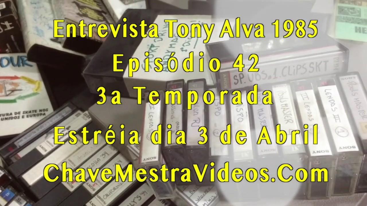 Entrevista Tony Alva Brasil 1985