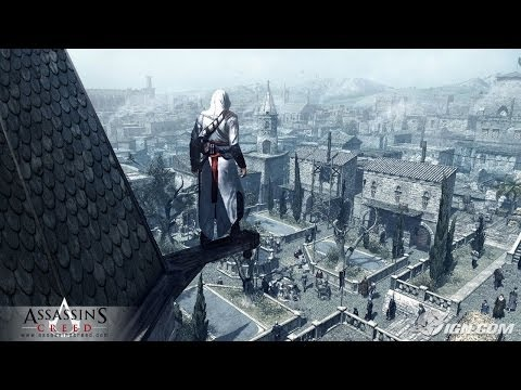 Assassin's Creed I - 04 Trouble In Jerusalem (OST 2007) (HD)