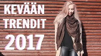 KEVÄÄN TRENDIT 2017  |  AINO
