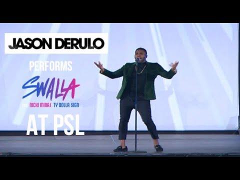 "Jason Derulo Performs "" Swalla"" Live At PSL"