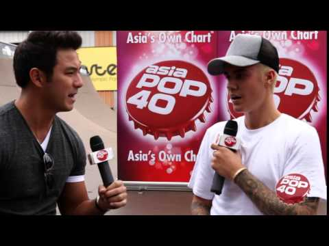 Dom Lau asks Justin Bieber 'Will you be coming back to Asia?'