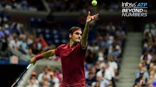 Uncovered: Roger Federer Leads Players Who Thrive Under Pressure On Second Serves