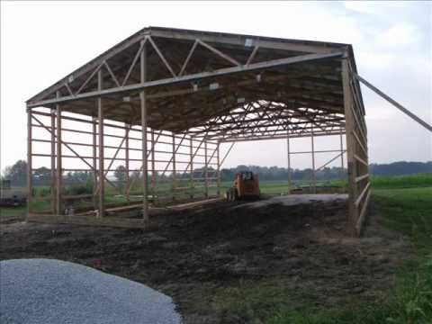 Pole Barn Built In 5 Days