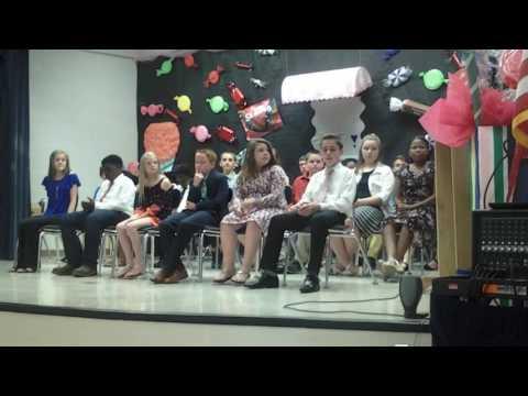 6th grade Graduation 2017 from Benndale Elementary school