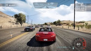 Need for speed hot pursuit 2010, future perfect sports race, gameplay