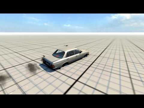 Beamng - going so fast tires explode