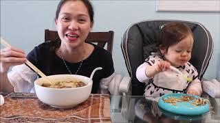 Vlog 522 ll  2 MẸ Con Ăn Bún Bò Huế Ở Mỹ