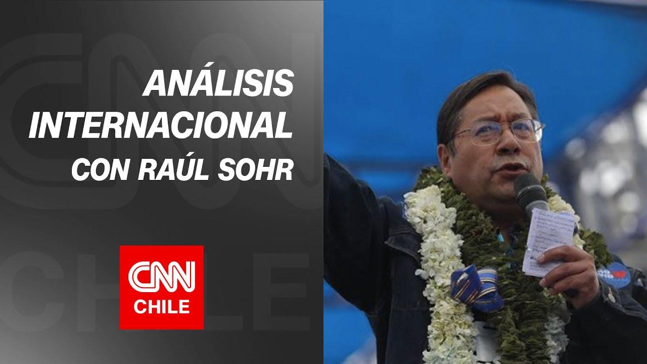 Raúl Sohr analiza el triunfo de Luis Arce en las elecciones presidenciales de Bolivia