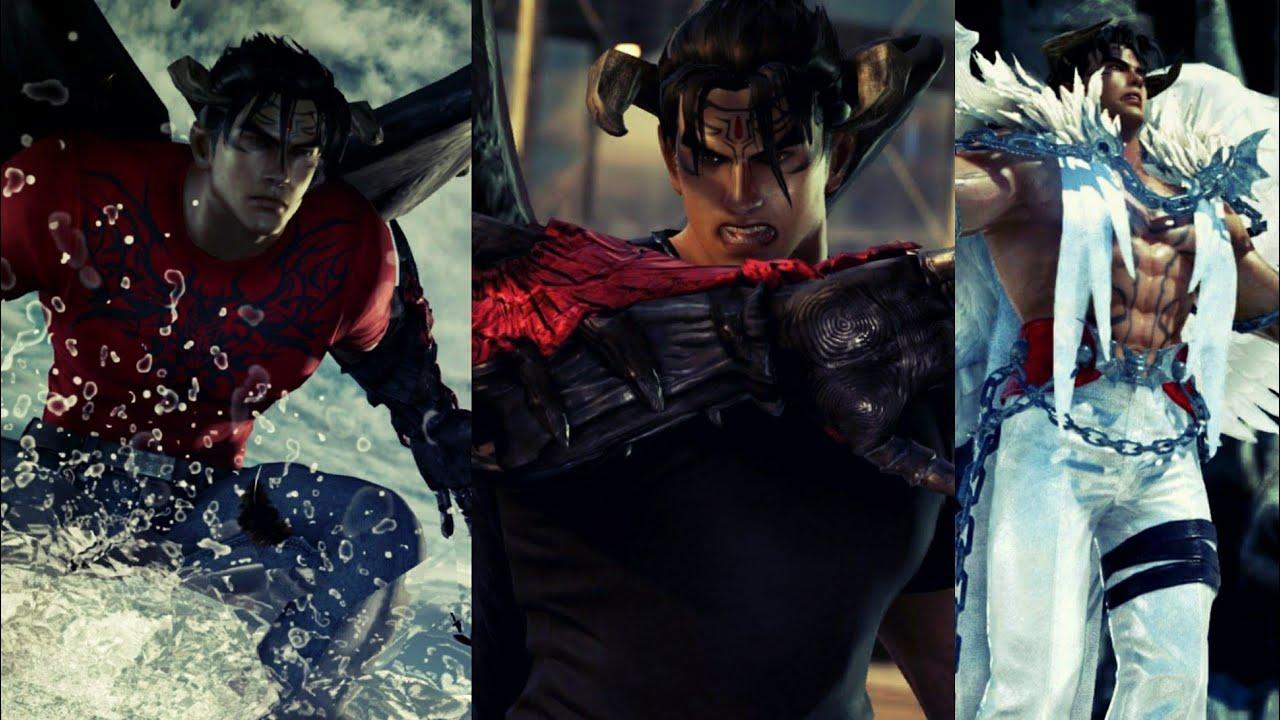 Tekken 7 Devil Jin Unlockable Costumes Showcase Youtube
